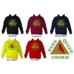 Hear, Queer, Cosmic Hoodie (adult sizes)